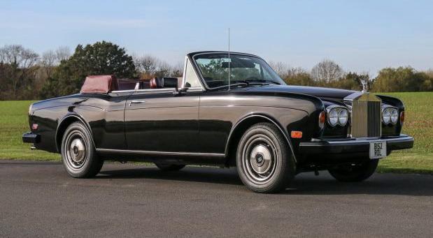 Prodaje se Sinatrin Rolls-Royce Corniche
