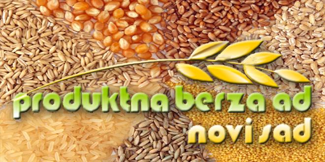 Produktna berza: Promet pao, porasle cijene kukuruza i pšenice