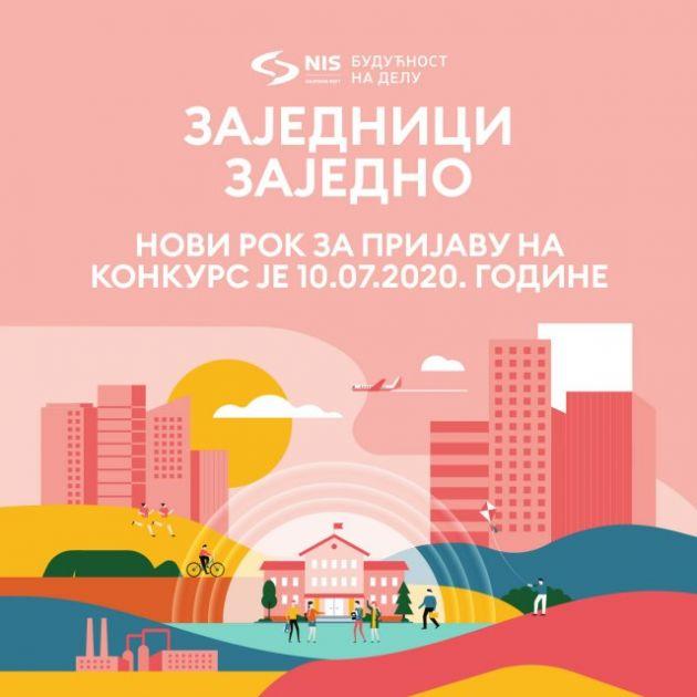 Produžen rok za prijavu NIS-ovog konkursa Zajednici zajedno