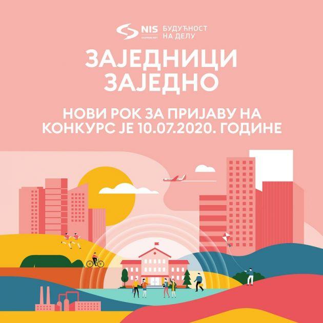 """Produžen rok za prijavu NIS-ovog konkursa """"Zajednici zajedno"""""""