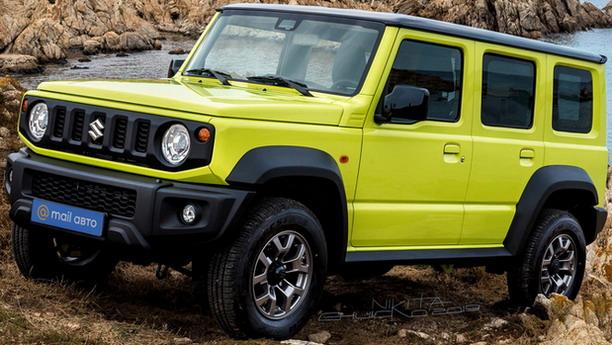 Produženi Suzuki Jimny u prodaji od sledeće godine
