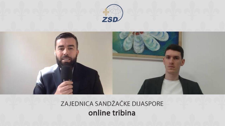 """Prof. Mithat Mujović gost prve tribine: """"Kutak sandžačke dijaspore"""""""