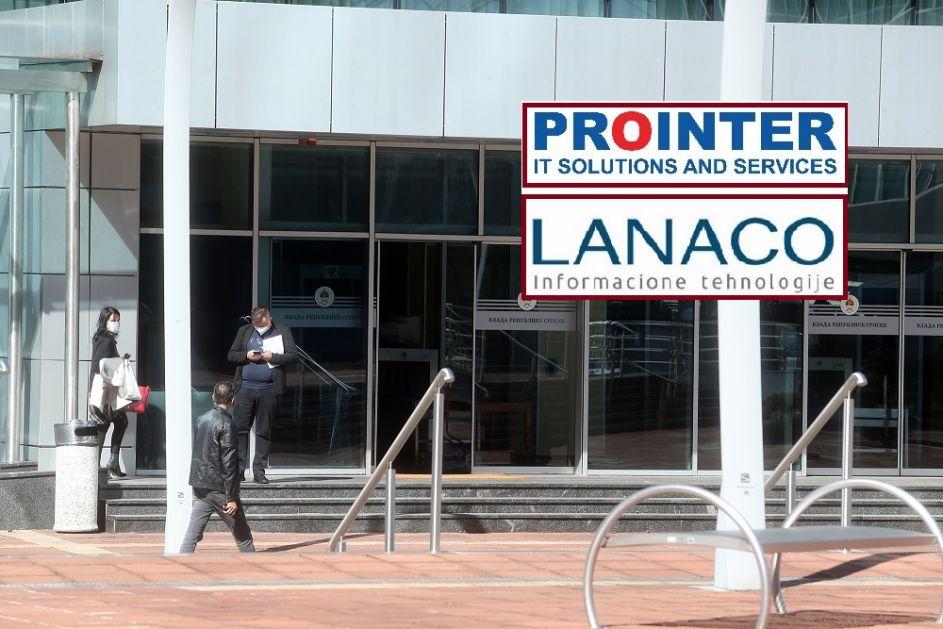 """Prointeru"" i ""Lanacu"" još jedan unosan posao od Vlade RS"