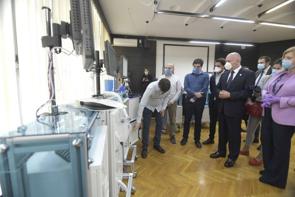 Proizveden prvi srpski respirator