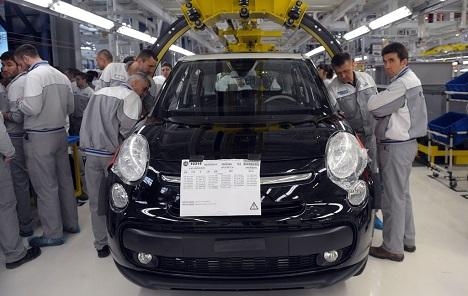 Proizvodnja u kragujevačkom Fiatu završena za ovu godinu