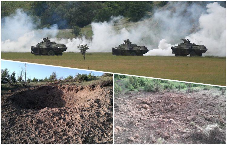 Projektil Vojske Srbije umalo pogodio selo na Pešteru