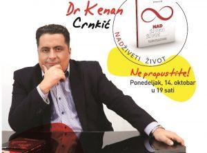 """Promocija knjige """"Nadživeti život""""dr Kenana Crnkića"""