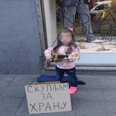Pronađeni roditelji devojčice koja prosi u centru Beograda: Mesecima je na ulici sa gitarom! ODUZIMAJU IM DETE?!
