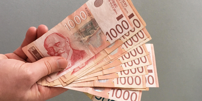 Prosečna novembarska neto plata u Srbiji 60.926 dinara