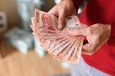 Prosečna plata 64.948 dinara, realno porasla 7,2 odsto