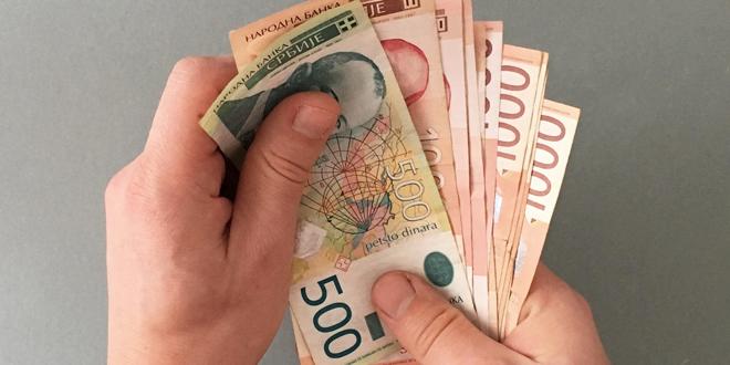 Prosečna plata u Srbiji 47.920 dinara