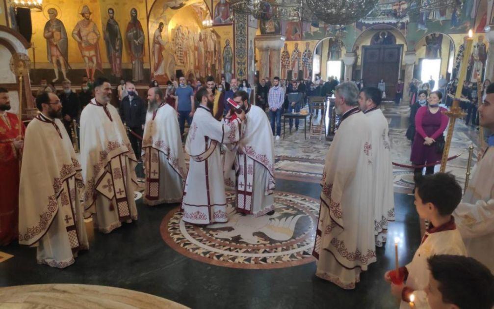 Proslava praznika Svetog Vasilija Ostroškog u podgoričkom sabornom hramu