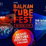 Proslavi 5. rođendan Balkan Tube Festa sa 150 najvećih Youtube zvezda regiona