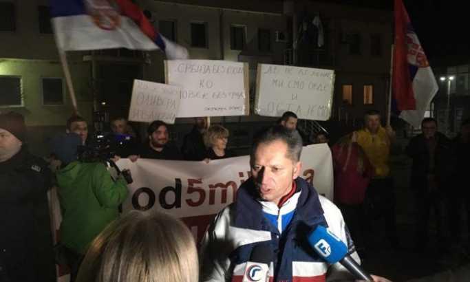 Protest 1 od 5 miliona: Na Kosovu se večeras šeta u Gračanici