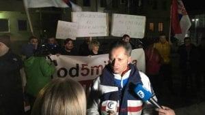 """Protest """"1 od 5 miliona"""" u Gračanici: Ibar nije granica"""