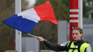 Protest Žutih prsluka u Parizu danas jedva primetan