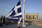 Protest levičara na Akropolju, podrška teroristi
