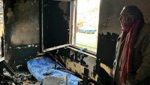 Protest na godišnjicu paljenja kuće novinara Milana Jovanovića