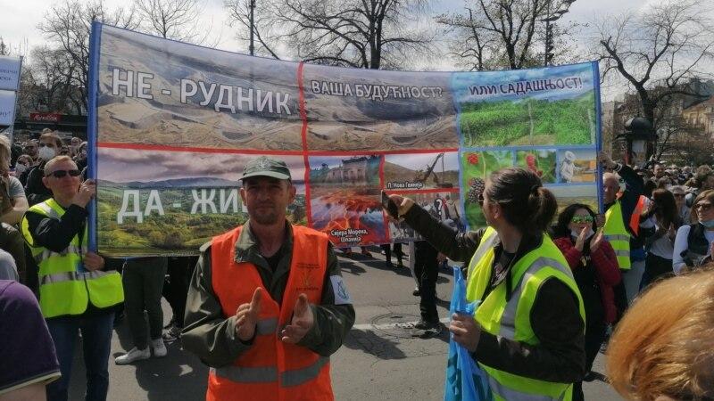 Protest na zapadu Srbije: 'Ne' iskopavanju litijuma