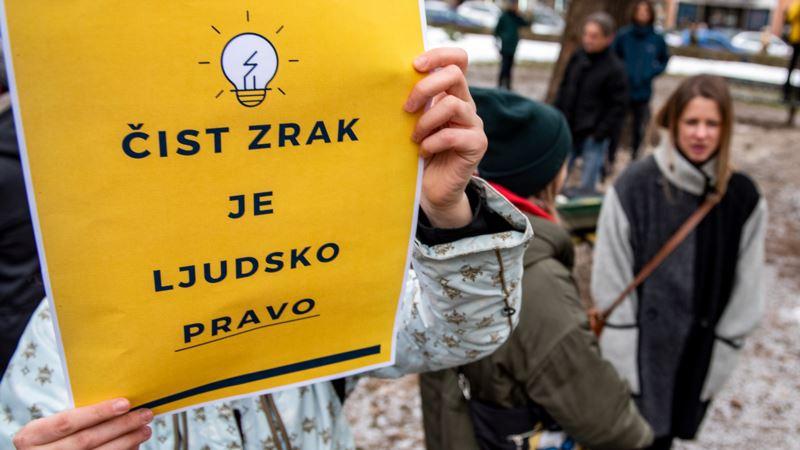 Protest protiv Kolektivnog trovanja u Sarajevu