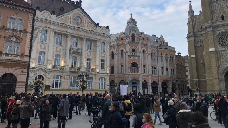 Održan protest protiv fašizma u Novom Sadu