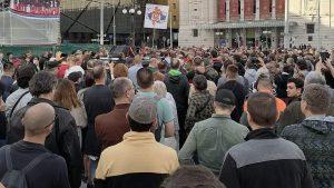 Protest protiv vlasti počeo na beogradskom Trgu Republike