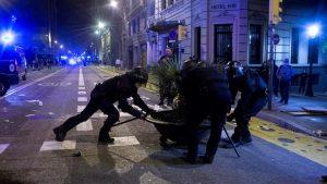 Protest u Barseloni zbog restriktivnih mera