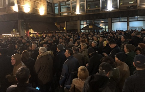 Protest u Beogradu: Odlična atmosfera i stupidna propaganda vlasti (VIDEO)