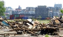 Protest u Beogradu povodom tri godine od rušenja u kvartu Savamala