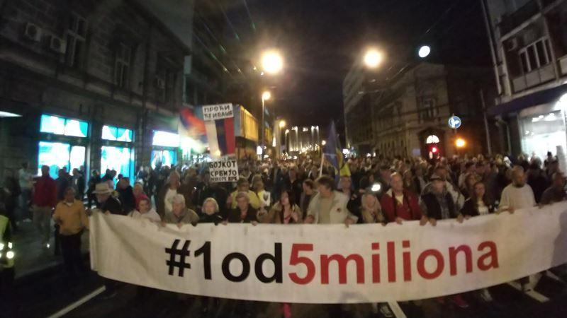 Jedan od pet miliona: Podrška Obradoviću i svim uzbunjivačima