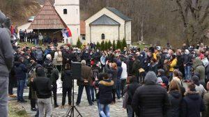 Protest u Dobrinji zbog litijuma: Ne damo da nam trujete vodu, zemlju i vazduh