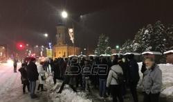 Protest u Gornjem Milanovcu, dočekani aktivisti kraljevačkog Lokalnog fronta