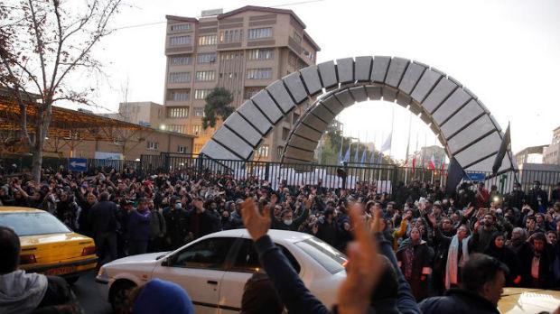 Protest u Teheranu, demonstranti cepali slike generala Solejmanija