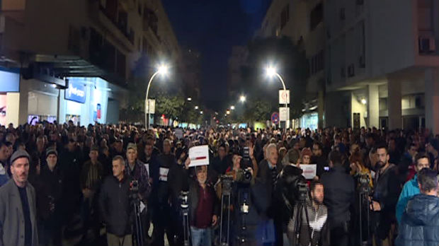 Protest u Podgorici, građani traže ostavke funkcionera