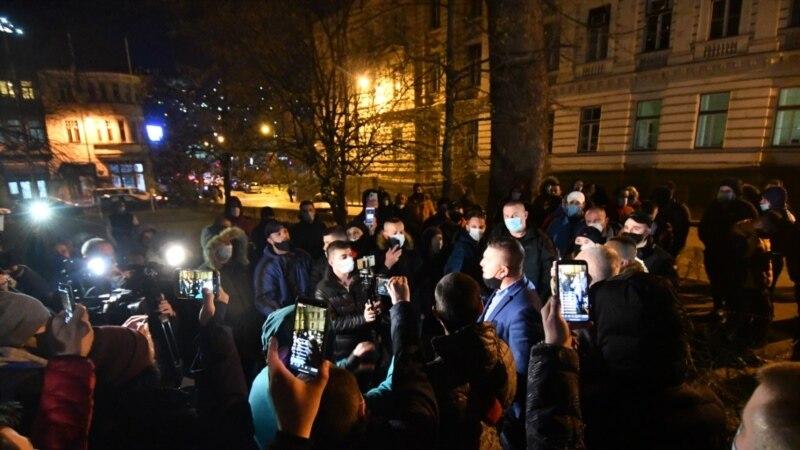 Protest ugostitelja zbog najavljenog lockdowna u Kantonu Sarajevo