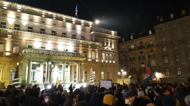 Protest za čist vazduh u centru Beograda