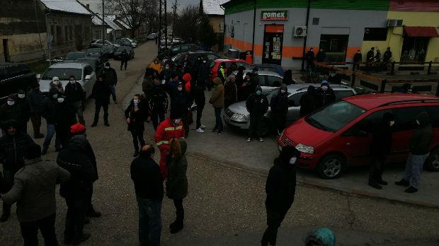 Protest zbog dovođenja migranata u Deliblatsku peščaru