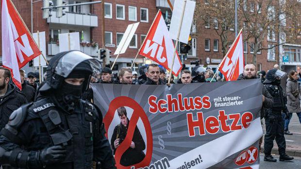 Protest zbog okupljanja desničara u Hanoveru