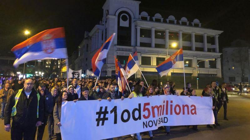 Protesti 1 do 5 miliona: Vratiti demokratiju u institucije