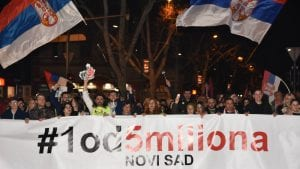 """Protesti """"1 od 5 miliona"""" održani u više od 25 gradova i opština širom Srbije (FOTO, VIDEO)"""