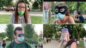 """Protesti i korona virus u Srbiji: """"Ne plašim se zaraze, a mislim da je važno da budemo ovde"""""""