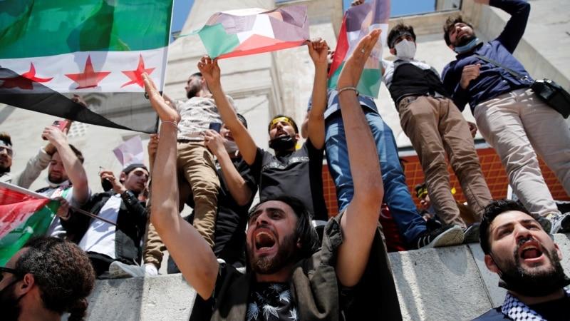 Protesti podrške Palenstincima u Turskoj, Libanu i Jordanu
