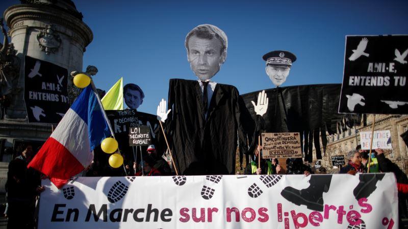 Protesti širom Francuske zbog ugrožavanja slobode informisanja