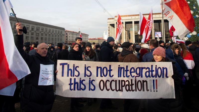 Protesti u Belorusiji protiv veće integracije sa Rusijom