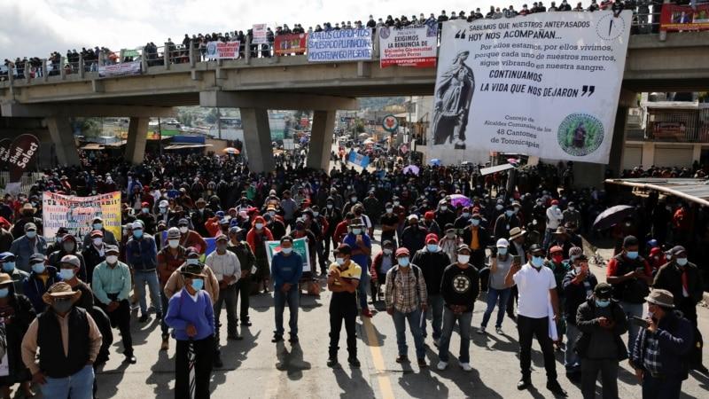 Protesti u Gvatemali, demonstranti najavili generalni štrajk