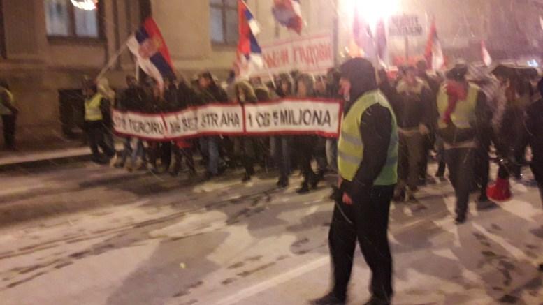 Protesti u Nišu: Mladi, uzmite budućnost u svoje ruke