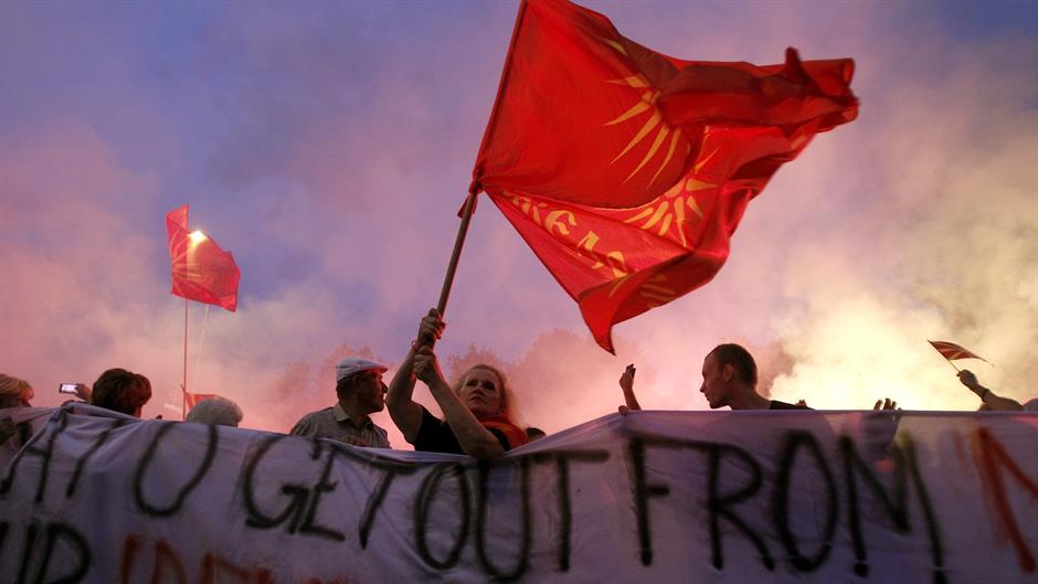 Protesti u Skoplju protiv novog imena Makedonije