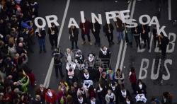 Protesti u francuskom i španskom delu Baskije za oslobadjanje zatvorenika