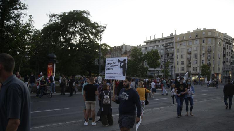 Protesti za oslobađanje uhapšenih demonstranata