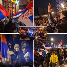 Protestna setnja - Kragujevac, 12. 1. 2019.